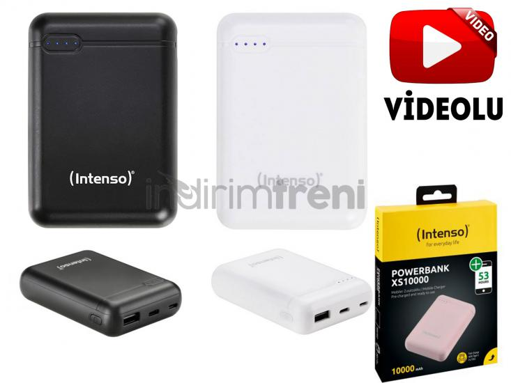 INTENSO Ultra Mini 10.000 Mah PowerBank TYPE-C Micro ve USB