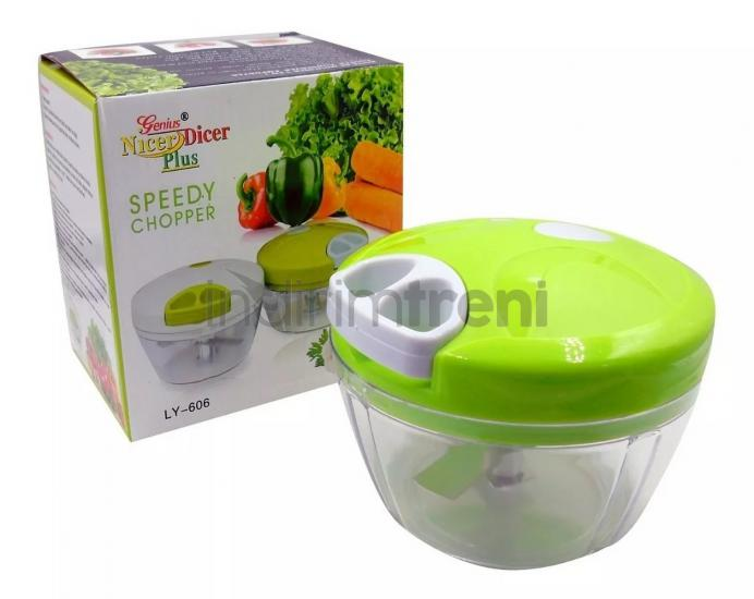 NicerDicer Plus İpli Manuel Rondo Beyaz 500Ml